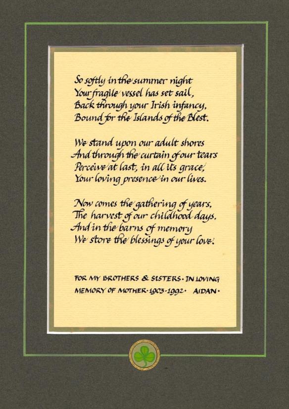 Poem for Bridget