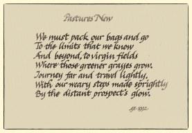 Pastures new 1-Edit