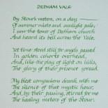 Dedham Vale - Calligraphy